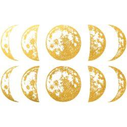 Golddekor für Keramik 22 Karat Gold - Mond