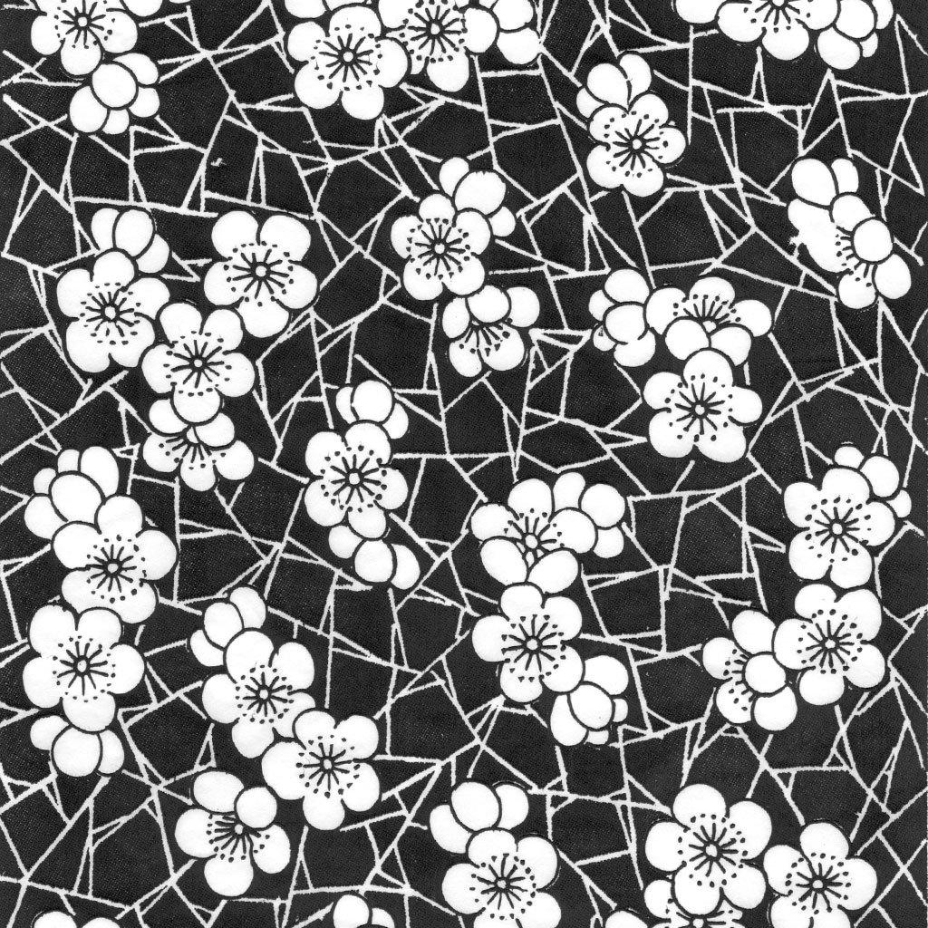 Keramik Unterglasur Blumen