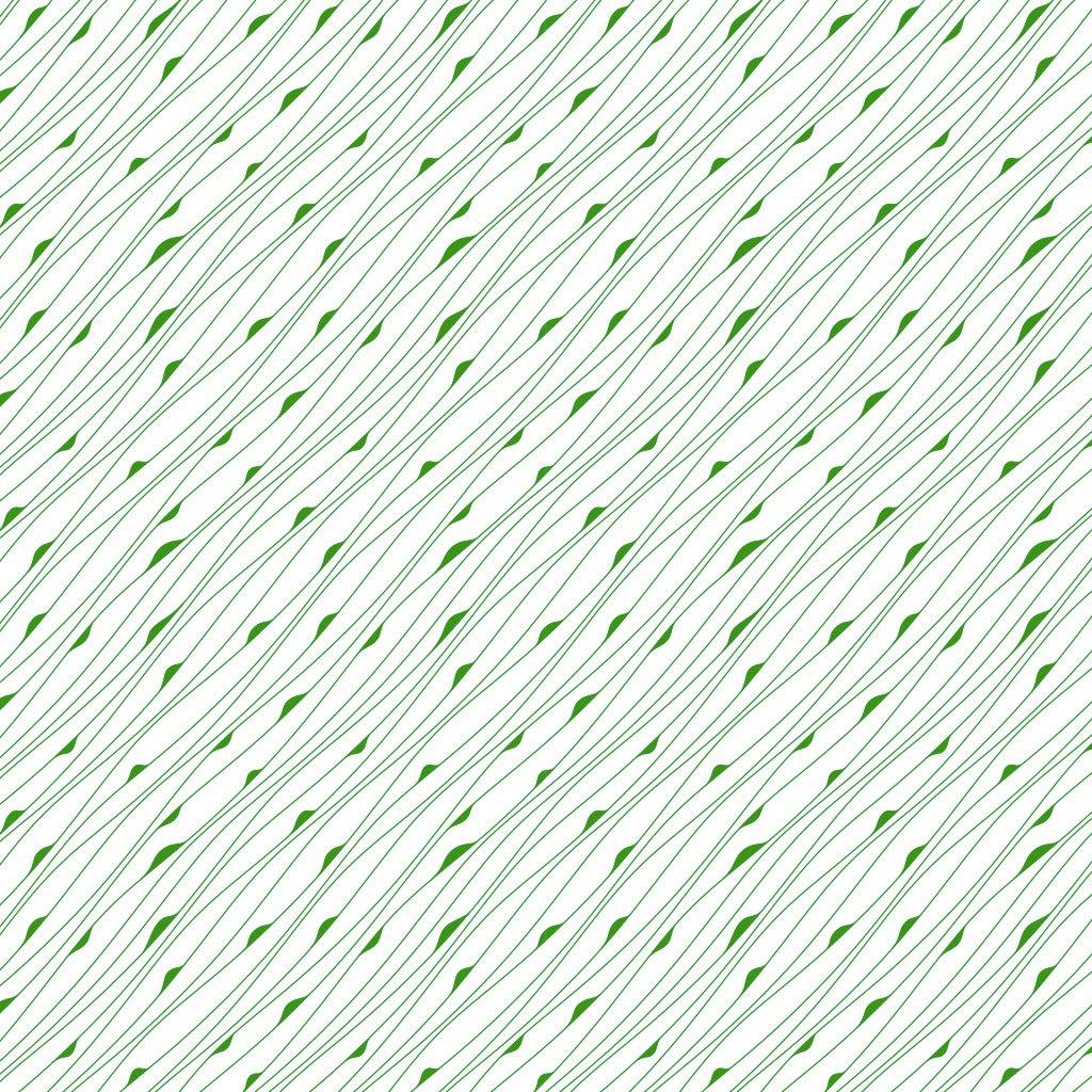 Keramik Dekor grünes Muster