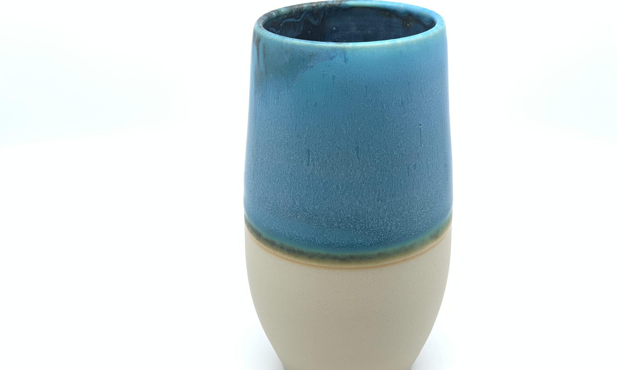 Keramik in Türkis