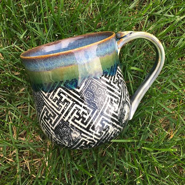 Keramik Dekor Muster Griechisch