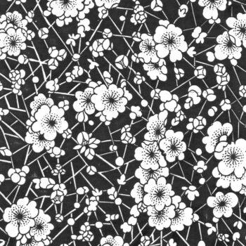Keramidekor kleine Blumen