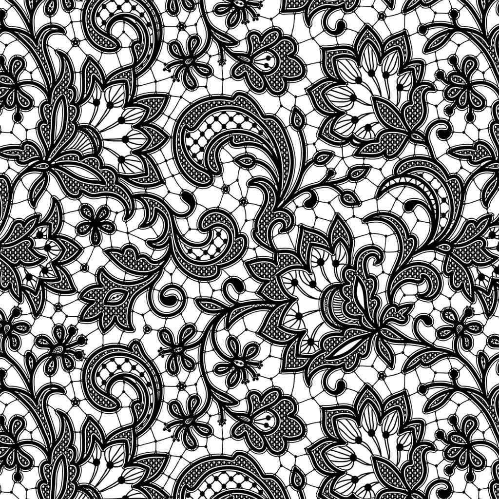 Blumenmuster für Keramik bis 1300 Grad