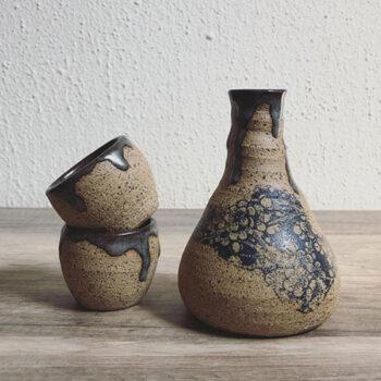 Kleine Blumen Keramikdekor
