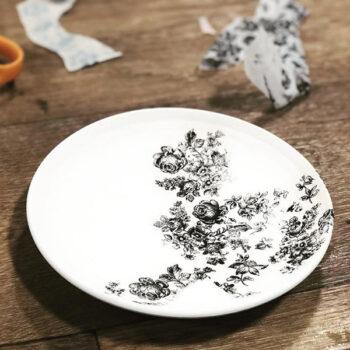 Keramik Dekor Blumen