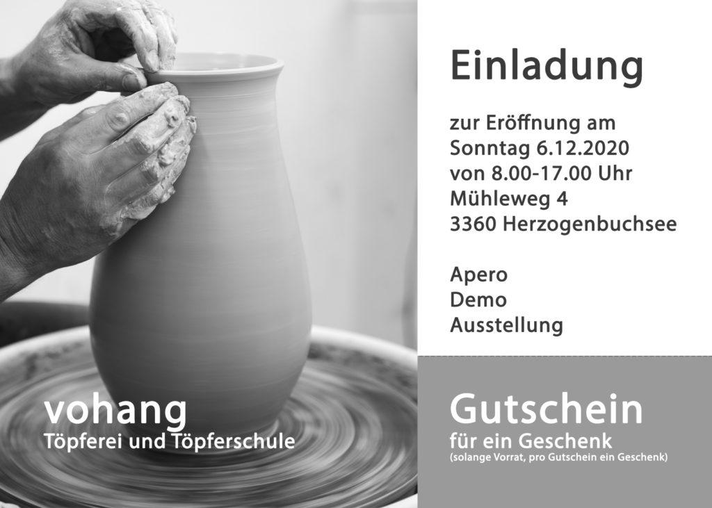 Neue Töpferschule Eröffnung