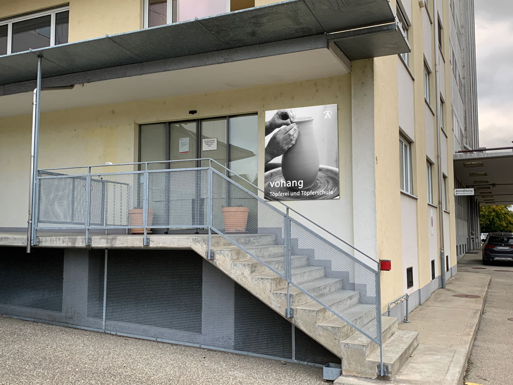 Neue Töpferei und Töpferschule ab 6.12.2020